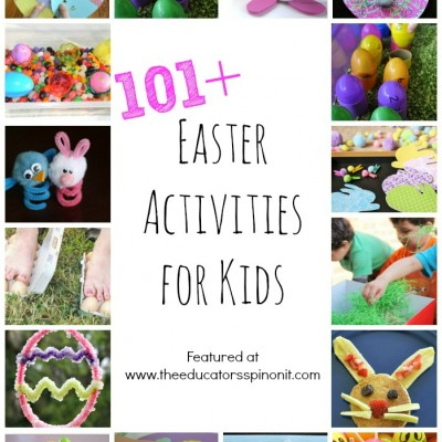 101+ Easter Crafts and Easter Activities for Kids