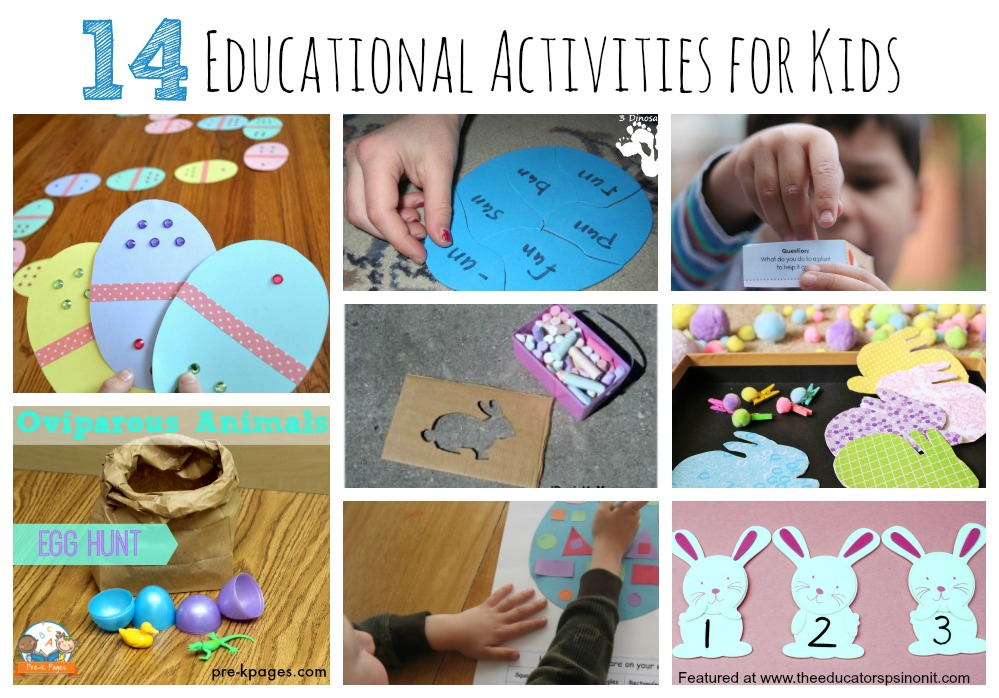 14 Educational Activities for Kids