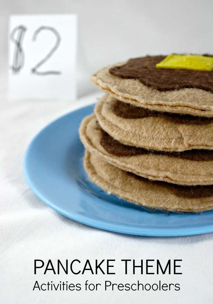 Pancake Theme Activities for Preschoolers
