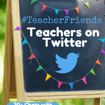 Teachers on Twitter Connecting with #TeacherFriends Chat