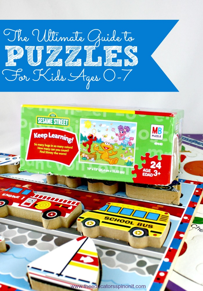 Choosing the best puzzle for your child. Ages 0-7
