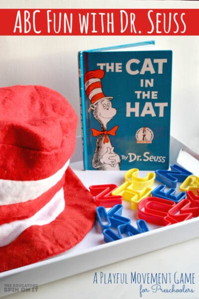 ABC Fun with Dr. Seuss Book The Cat in the Hat