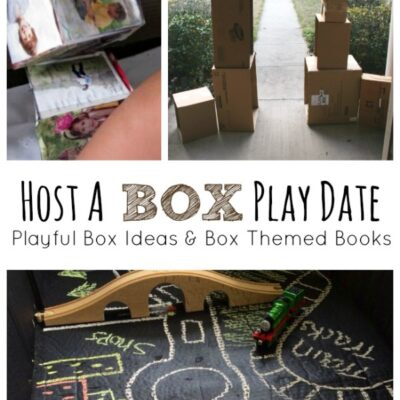 Ideas for Hosting a Box Play Date