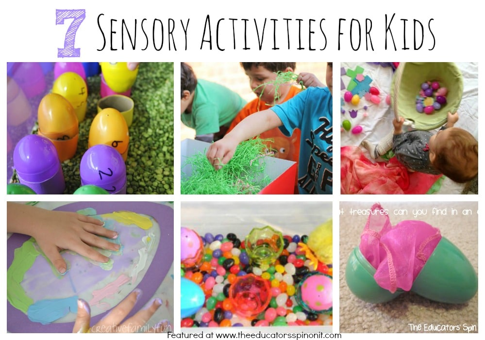 7 Easter Sensory Activities for Kids