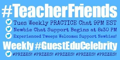 Top Teachers on Twitter featured at #TeacherFriends Chat