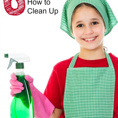 6 GREAT Tips for Teaching Kids How to Clean Up
