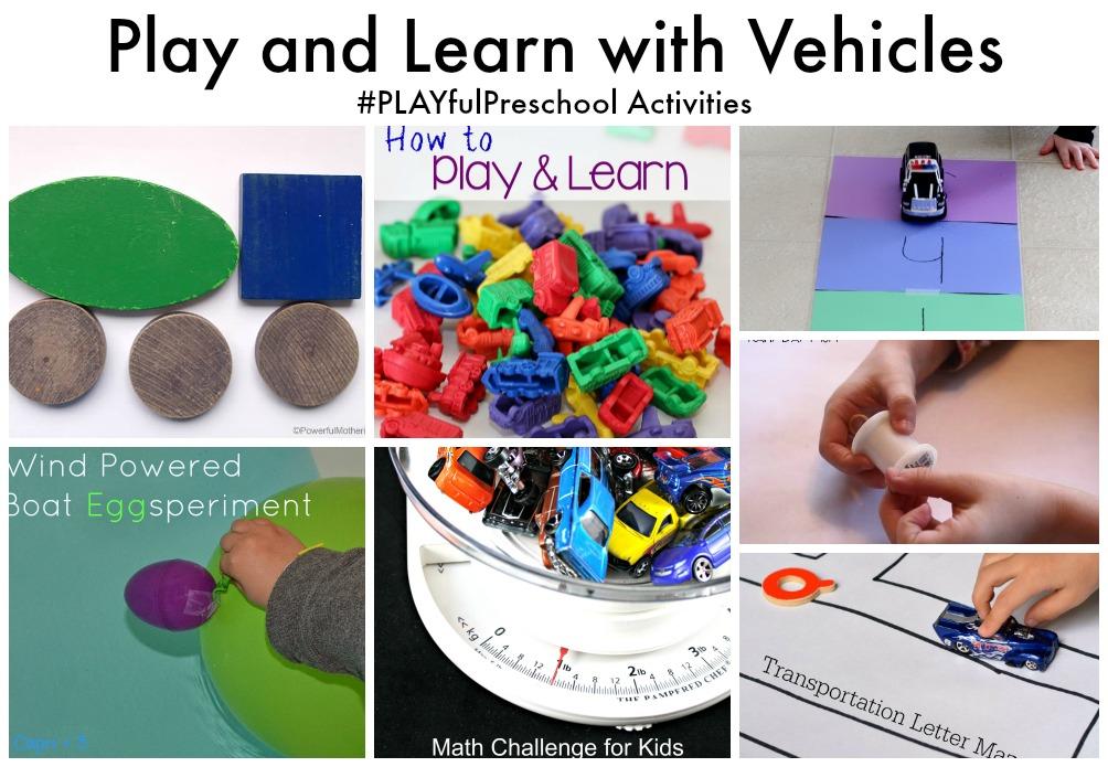 Transportation Theme Preschool Unit