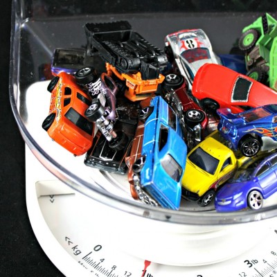 Transportation Theme Preschool Unit | How Many Cars Equals 1 Pound?