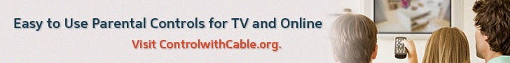 Tips for using Parental Controls Online and TV from ControlwithCable.org and The Educators' Spin On It