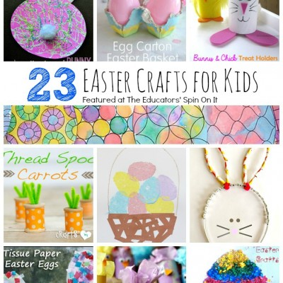 23 Easter Crafts for Kids