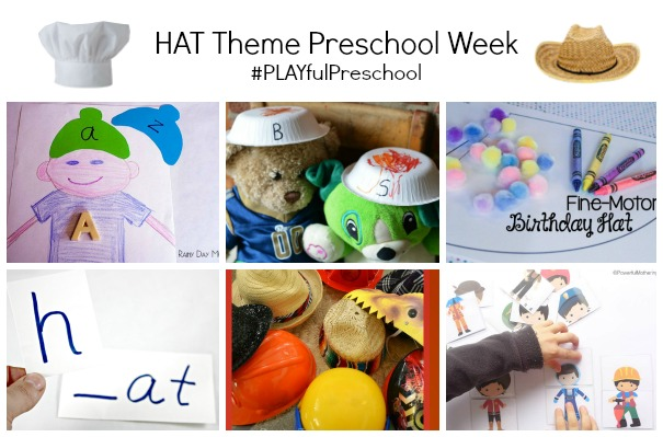 Hat theme preschool week.