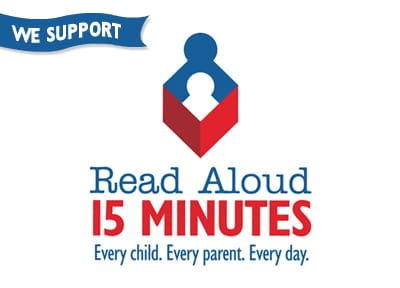 READ.. every child, every parent, every day!  Read Aloud Campaign