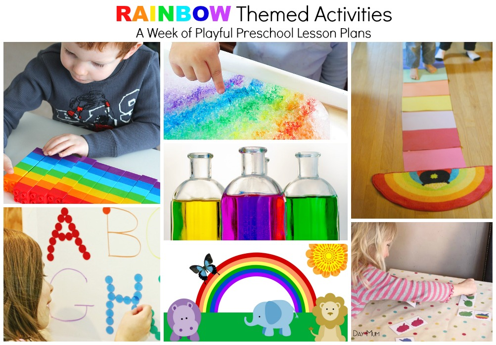 Awesome Rainbow Activities for kids