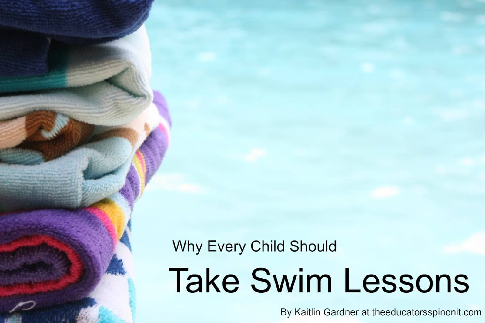 Why Every Child Should Take Swim Lessons