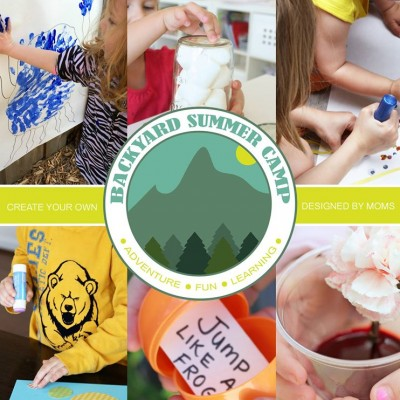 Learn & Play Backyard Summer Camp for Kids