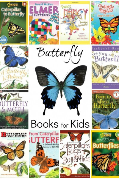 Butterfly Books for Kids