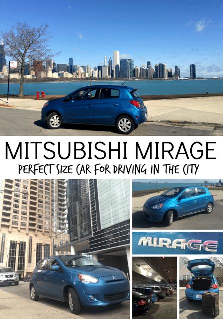 Mitsubishi Mirage Review in a Big City by Kim Vij