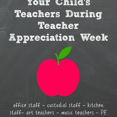 Teacher Appreciation Week Isn't Just for Homeroom Teachers