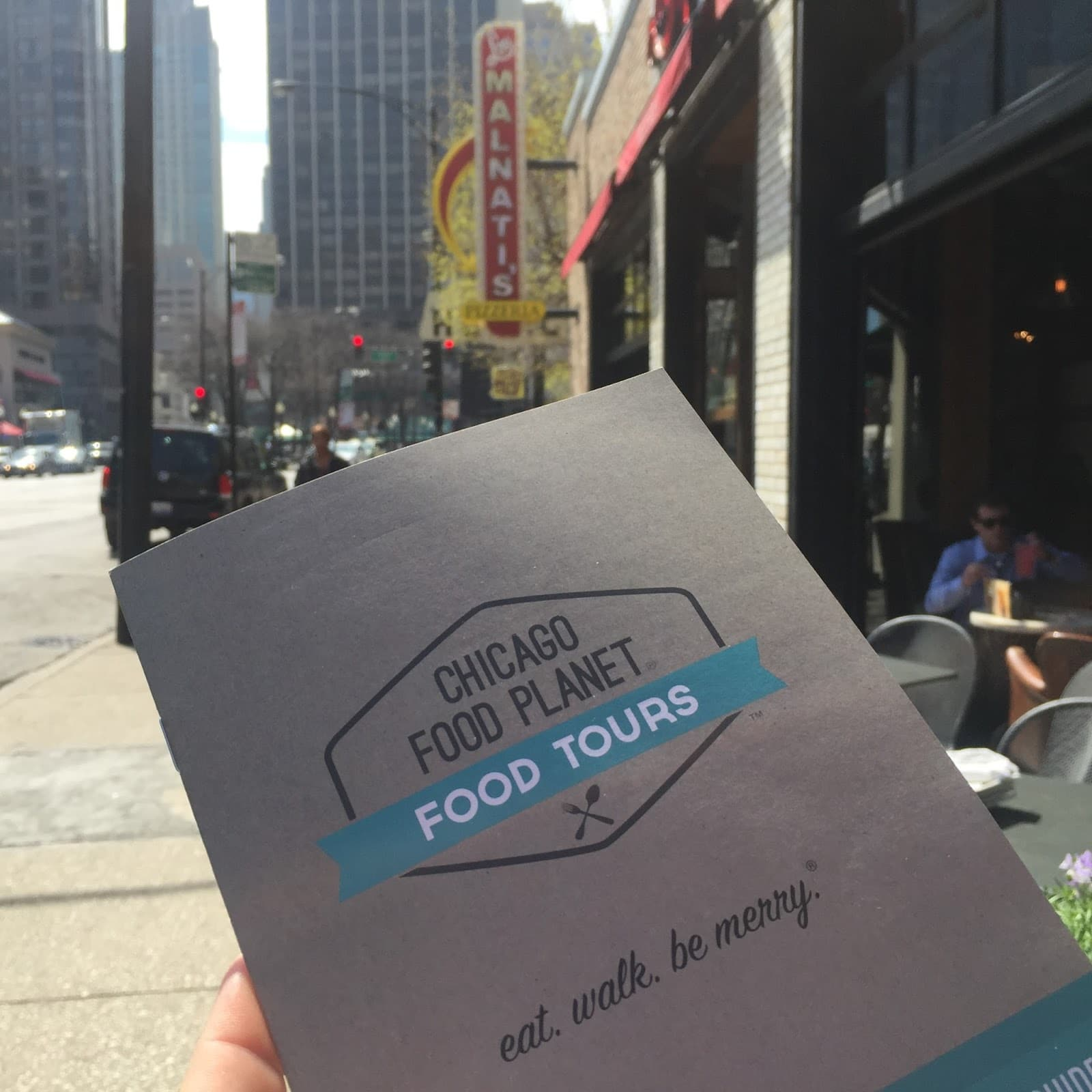 Chicago Food Tour featuring a review of Chicago Food Planet by Kim Vij