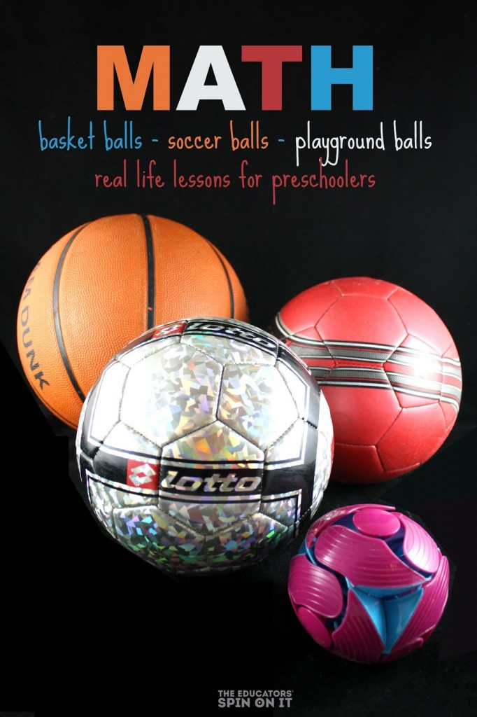3 Math Activities with Balls