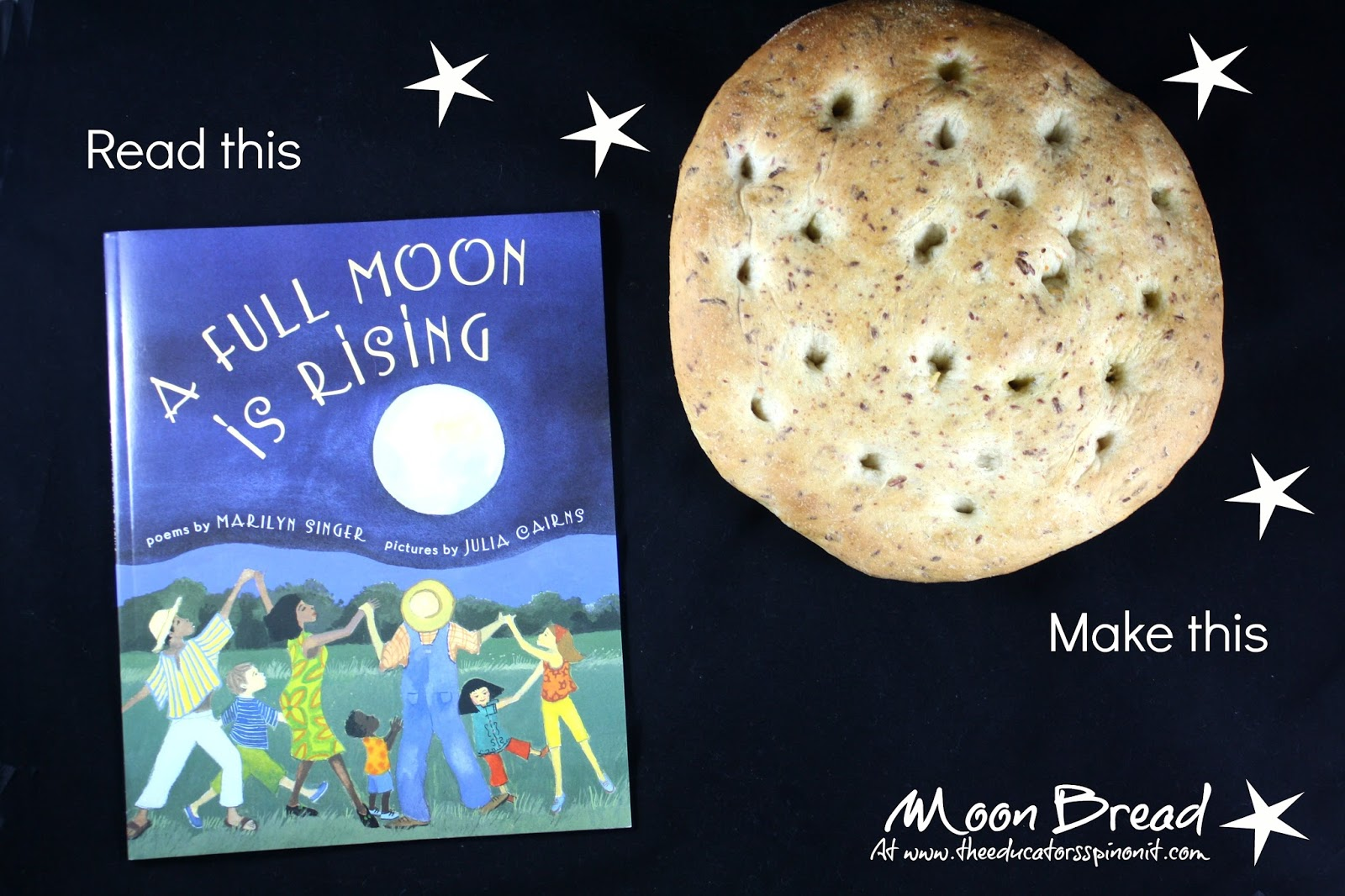 Read - A Full Moon is Rising - Make Moon Bread