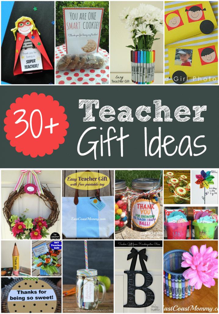 Teacher Gift Ideas for teacher appreciation week