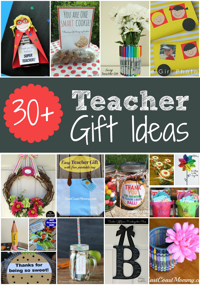Classroom Keepsake Ideas ~ Teacher gift ideas for apprecation week and end of