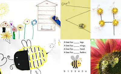 Bee Activities for Kids to Make and Learn