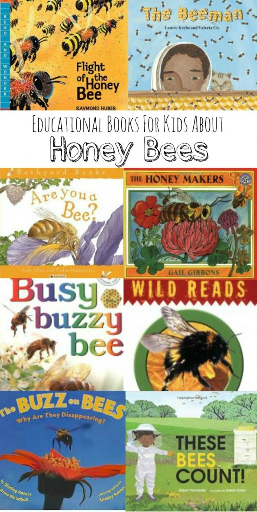 Honey Bee Books for Kids: A collection of non-fiction readers to explore the amazing path of these pollinators