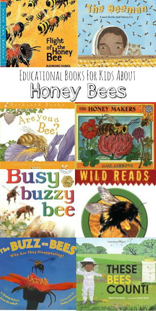 Honey Bee Books for Kids: A collection of non-fiction readers to explore the amazing path of these pollinators.