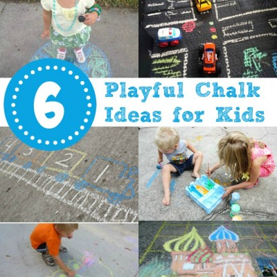 Playful Chalk Ideas for Kids