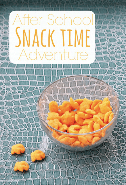 Game Tray Ideas for Snack Time with Goldfish Puffs