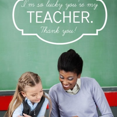 Planning Teacher Appreciation Week Celebrations: We Think the World of You