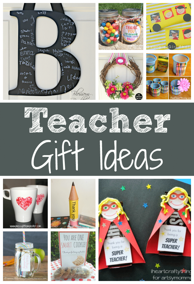 Teacher Gift Ideas for End of Year or teacher Appreciation