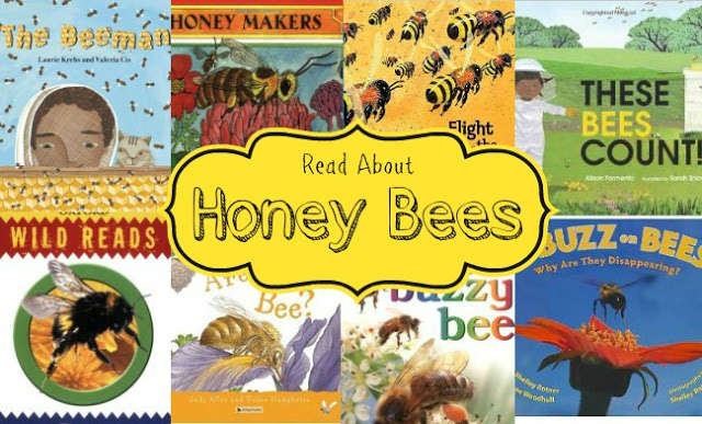 Books about bees for kids