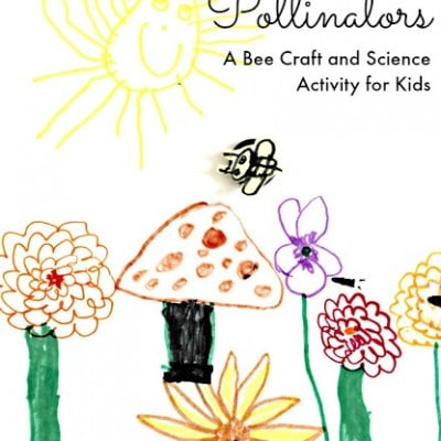 A Honey Bee Craft and Science Activity for Kids | Celebrate the Pollinators