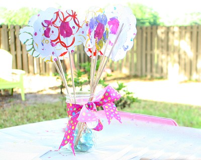DIY Flower Bouquet for Mother's Day