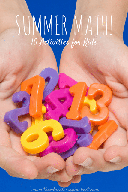 10 Fun Math Activities to Keep Your Preschooler Learning all Summer