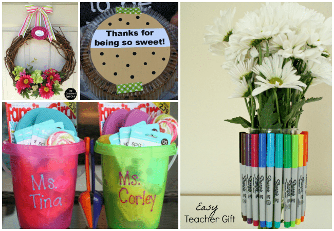 Teacher Gift Ideas for Teacher Appreciation Week and End of Year Gifts
