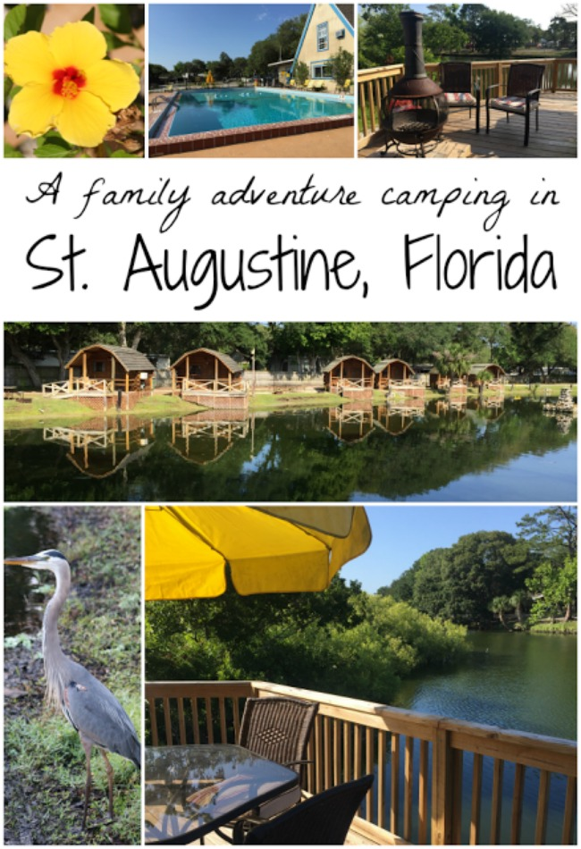 Camping in St. Augustine Florida at KOA
