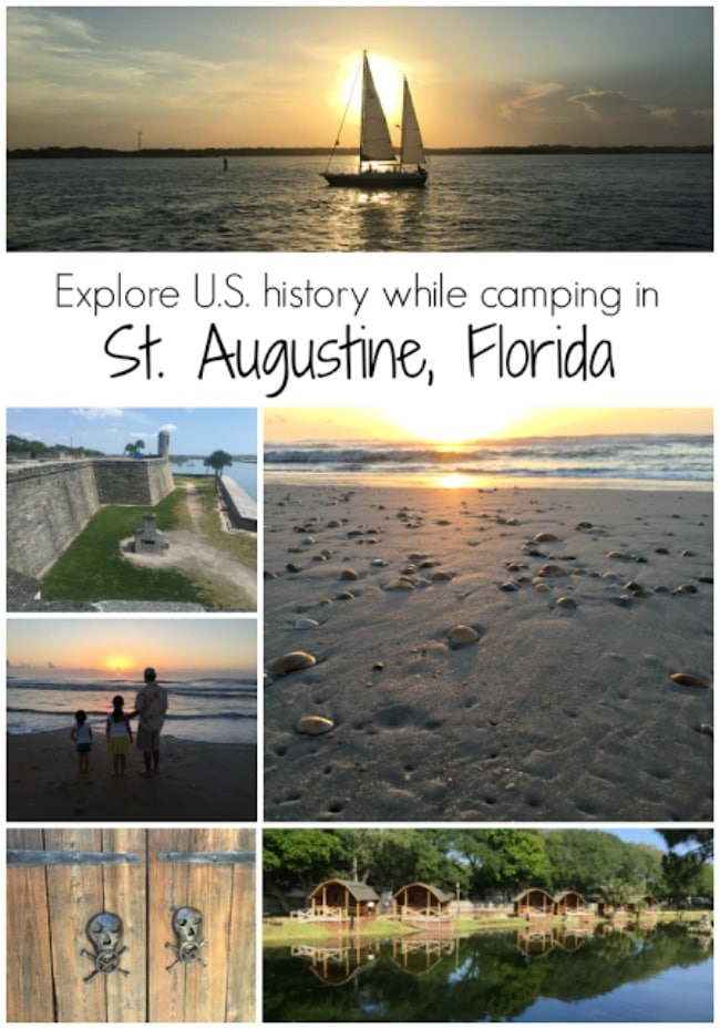 Explore US History in St. Augustine Florida