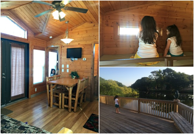 Inside of KOA Cabin in St. Augustine