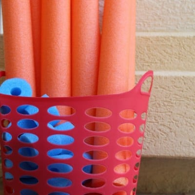 Build a Base Ten Math Game with Pool Noodles