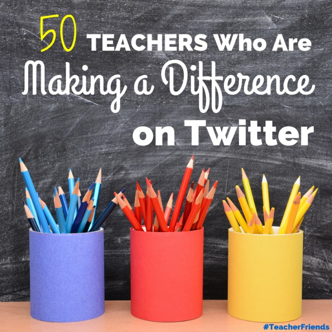 Teachers on Twitter