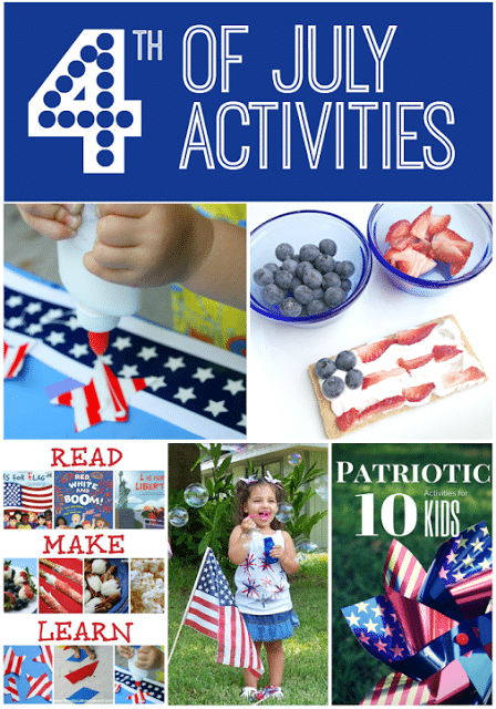 4th of  July Ideas for Kids to celebrate America's Birthday