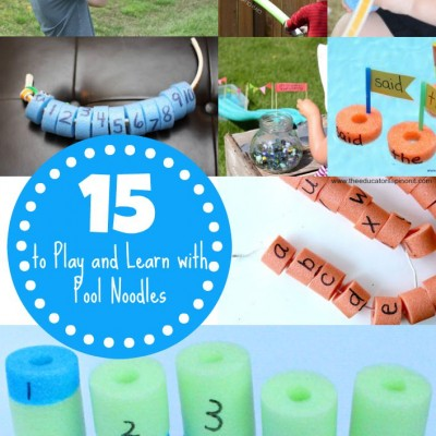 15 Pool Noodle Learning Activities for Kids