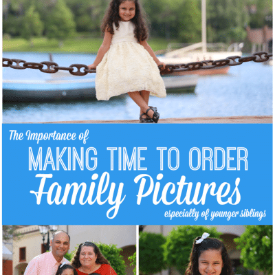 Making Time to Order Family Pictures Online