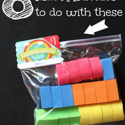 8 Fun and Easy Math Activities to do with Counting Blocks