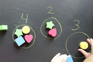 NUmber sense number circles with math counters