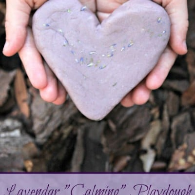 Super Sensory Invitations to Play | Calming Lavendar Playdough
